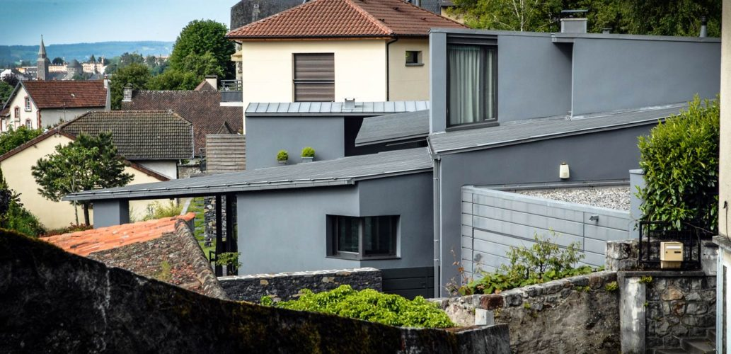 Maison contemporaine Aurillac 01