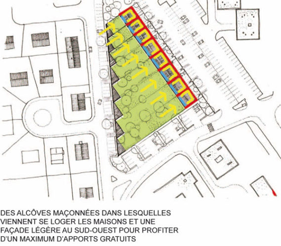 8 logements individuels en location accession