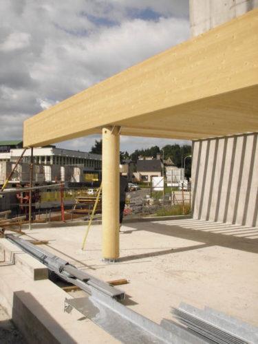 Vialenc - Structure bois