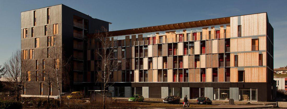 Immeuble 42 logements, bureaux et commerces