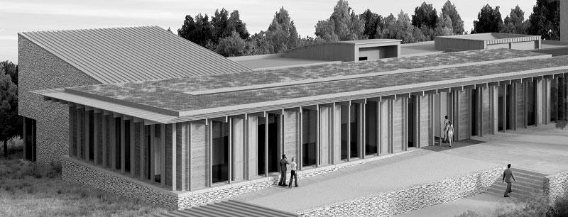 Extension des locaux du siège du SYDED, Catus