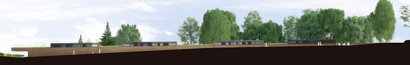 Aménagement d'un éco-lotissement à Prunet